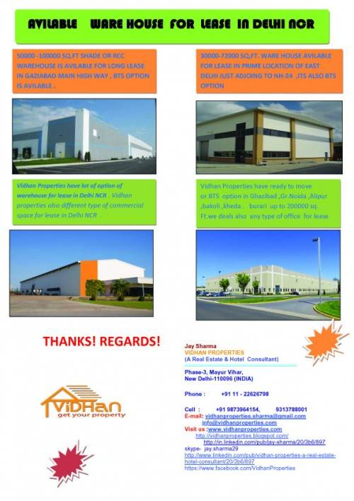 HOT OFFER FROM VIDHAN PROPERTIES